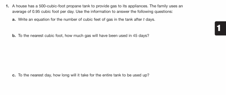 Carnegie Gas Tank Task