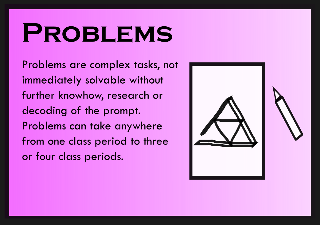 Problems - Card