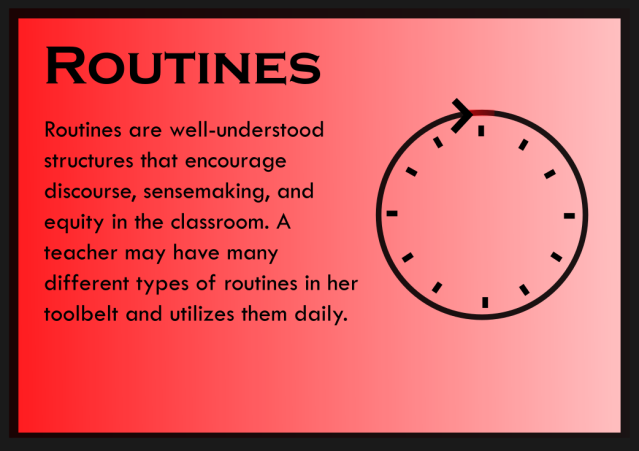 Routines - Card